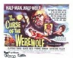 Renny Lister CURSE OF THE WEREWOLF genuine signed autograph 8x10 COA